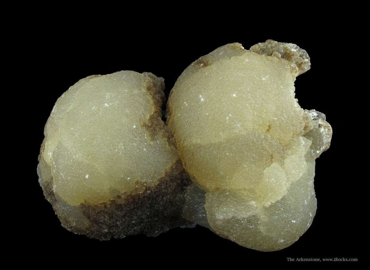 witherite crystals - Illinois
