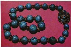 TURQUOISE: Iran, matched beads (~15 mm)