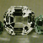 apophyllite gems - faceted