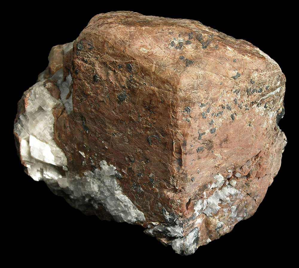 willemite, troostite variety - white light