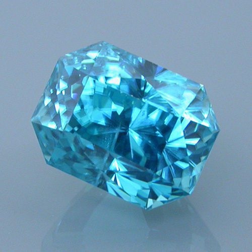 AFTER: Cambodian Blue Zircon