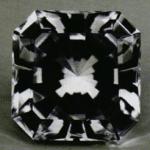 celestite - Madagascar faceted gem
