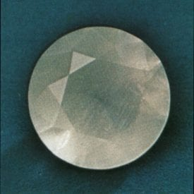 faceted witherite - England