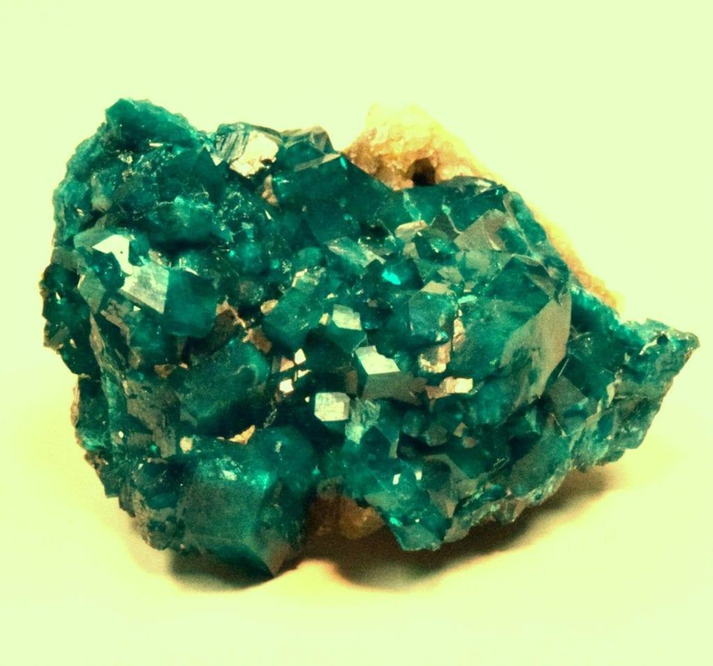 dioptase crystals - Kazakhstan