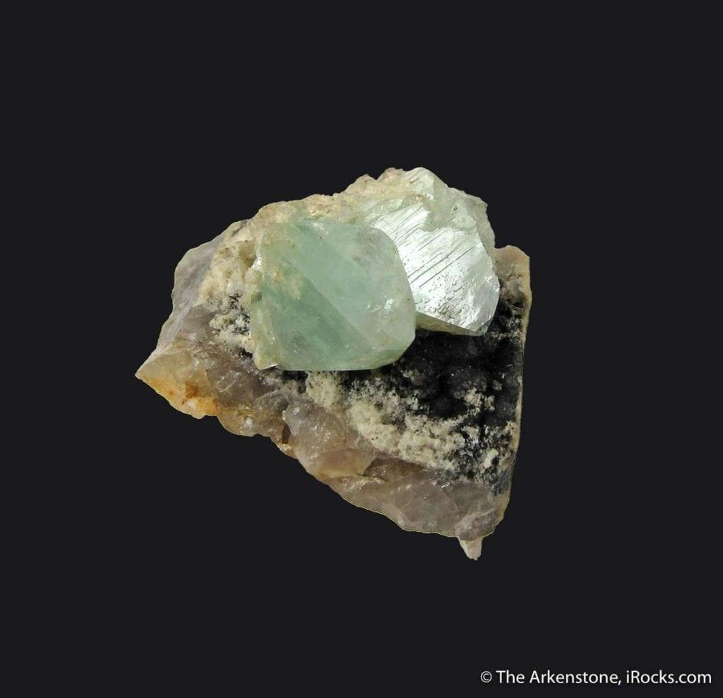 phosphophyllite crystals - Germany