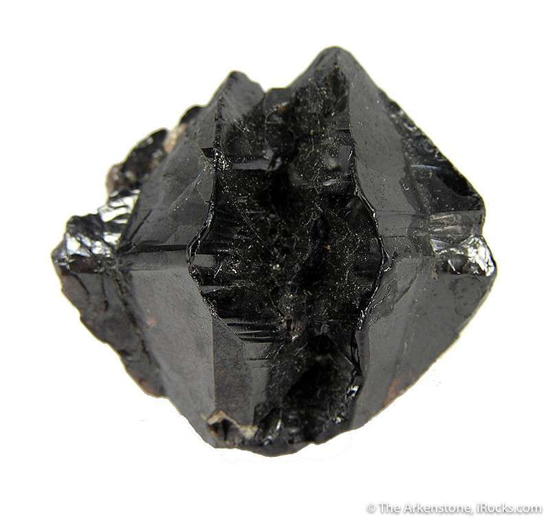 twinned cassiterite crystals - Czech Republic