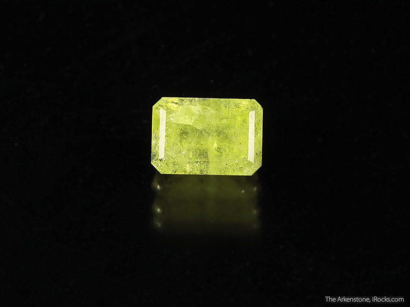 emerald-cut milarite - Brazil