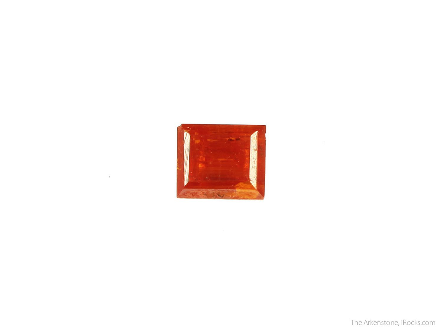 crocoite - rectangle cut