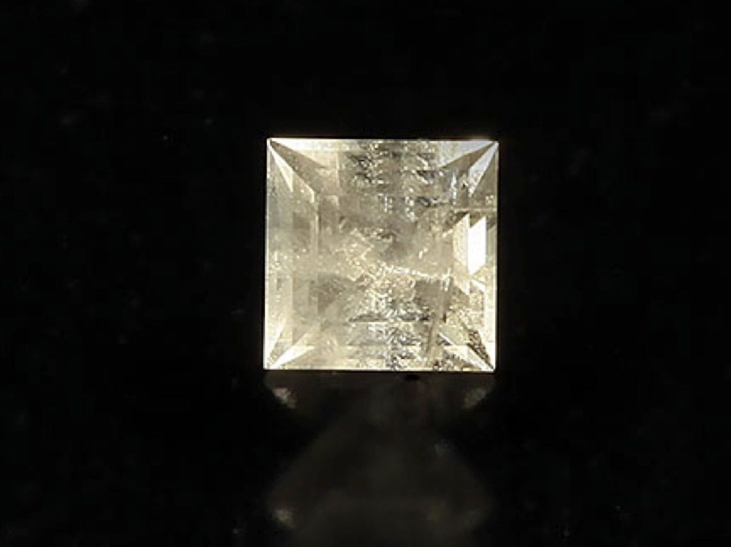 square brilliant-cut zektzerite