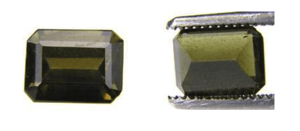 triphylite - emerald cut, Brazil