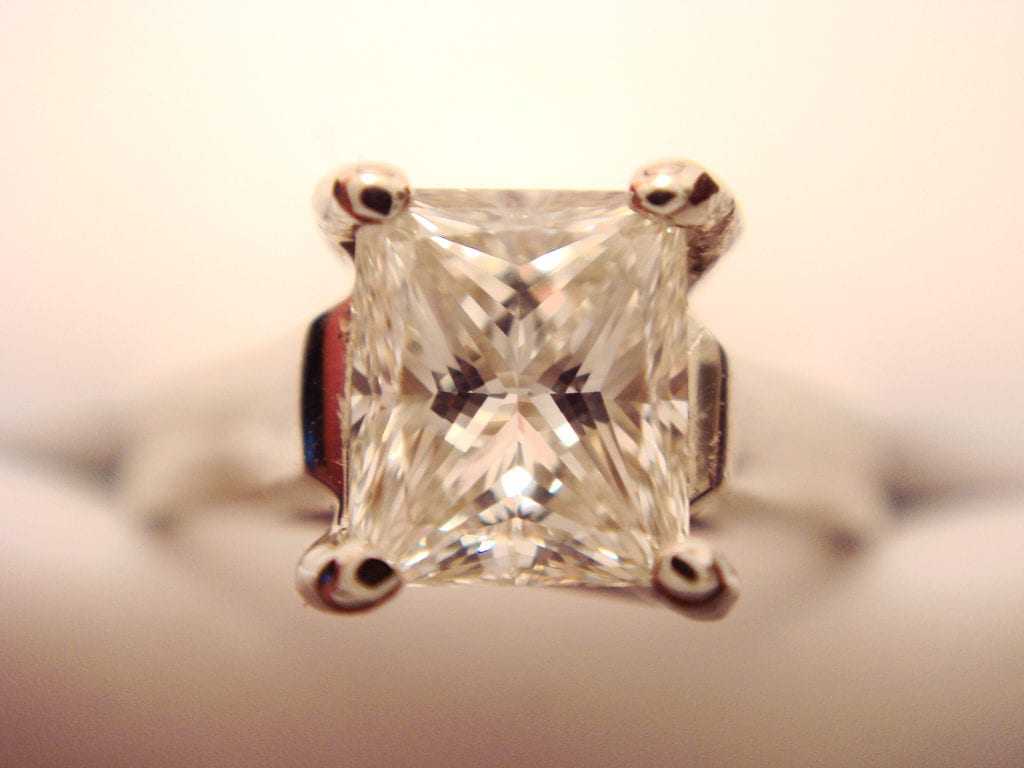princess cut - engagement ring