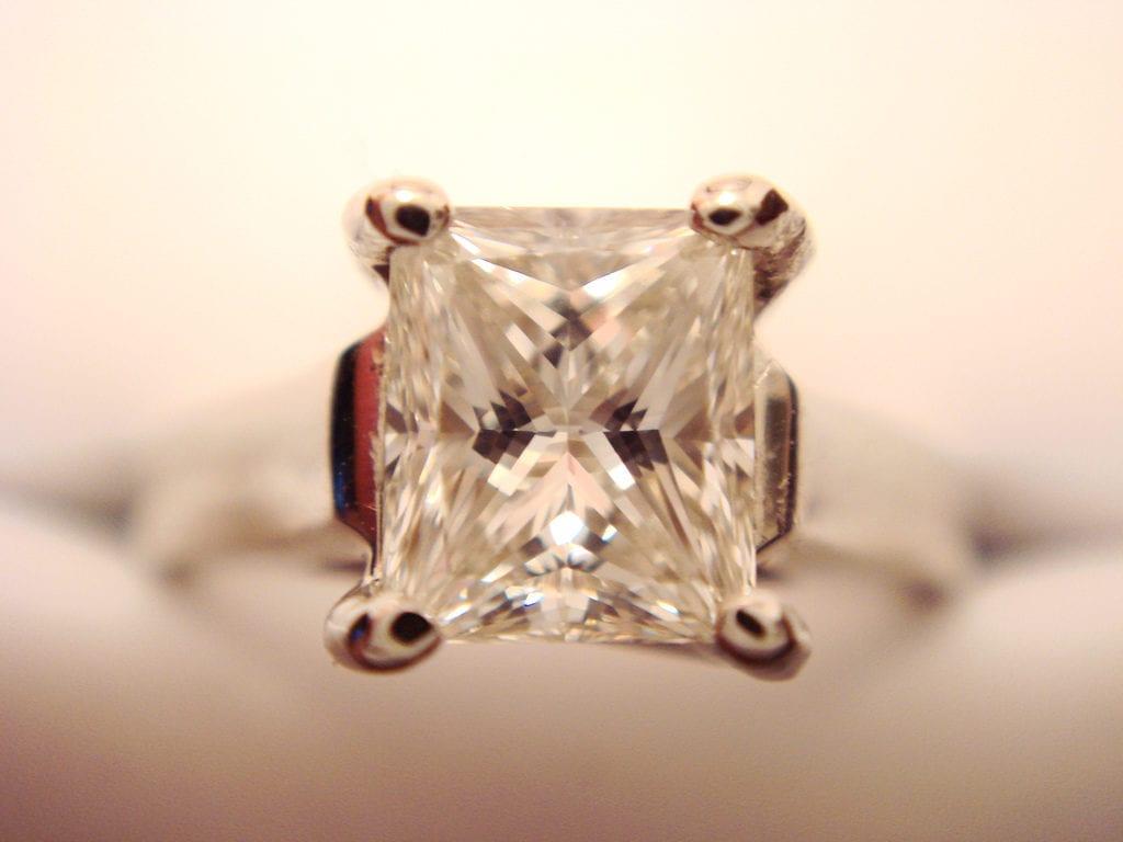 princess cut - engagement ring