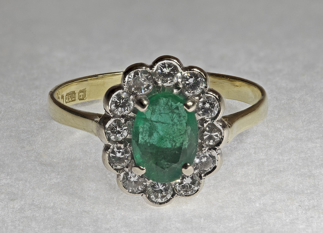 emerald treatments - ring