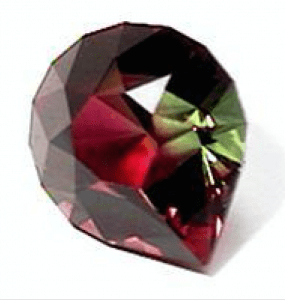 Brilliant Pear Cut - tourmaline