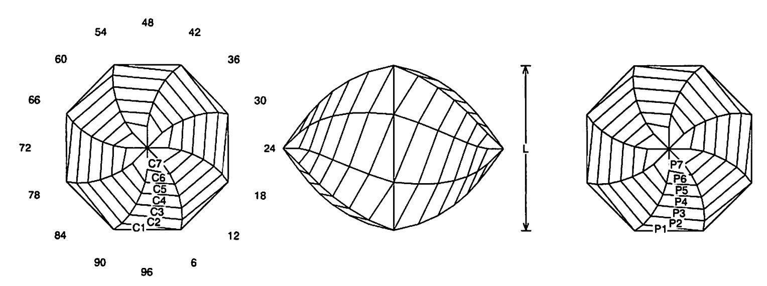 faceting design diagram chinese lantern 2 quartz citrine