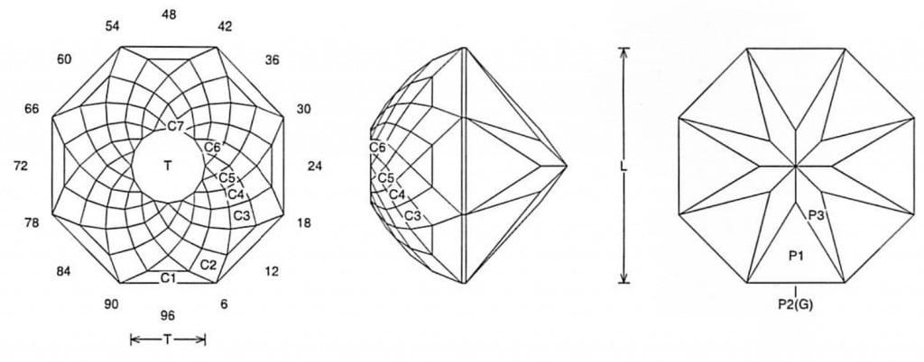 Double Rose Jeff Graham Facet Design 1