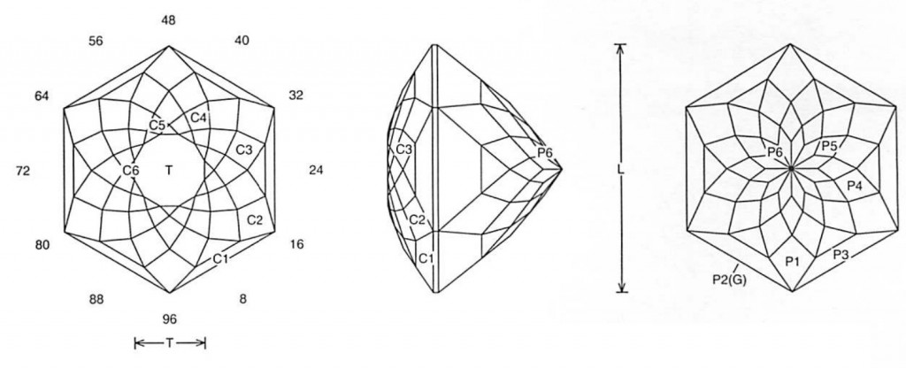 Hexed Glitter Jeff Graham Facet Design