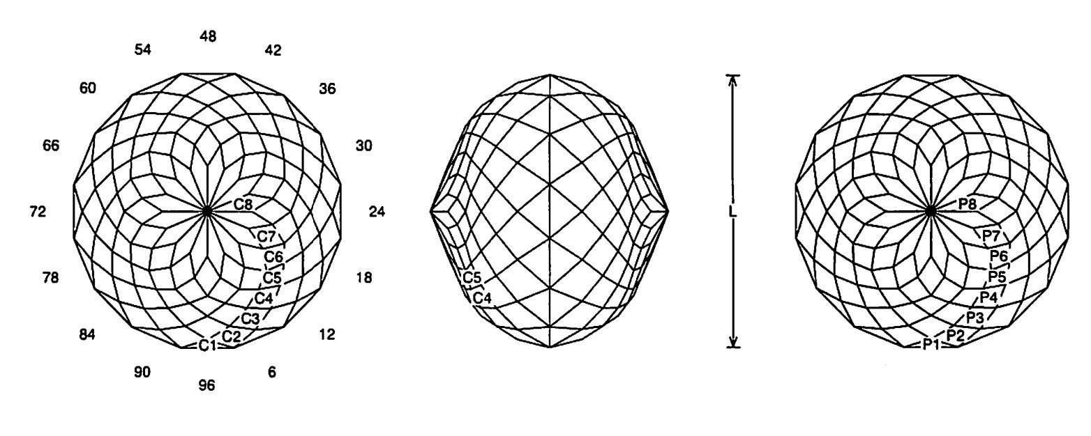 faceting design diagram  purdy flat - quartz