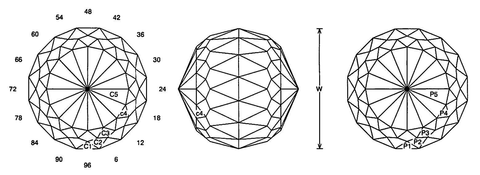 faceting design diagram  tom-tom - quartz