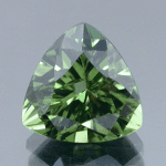 Trillion cut diopside - odd symmetry designs