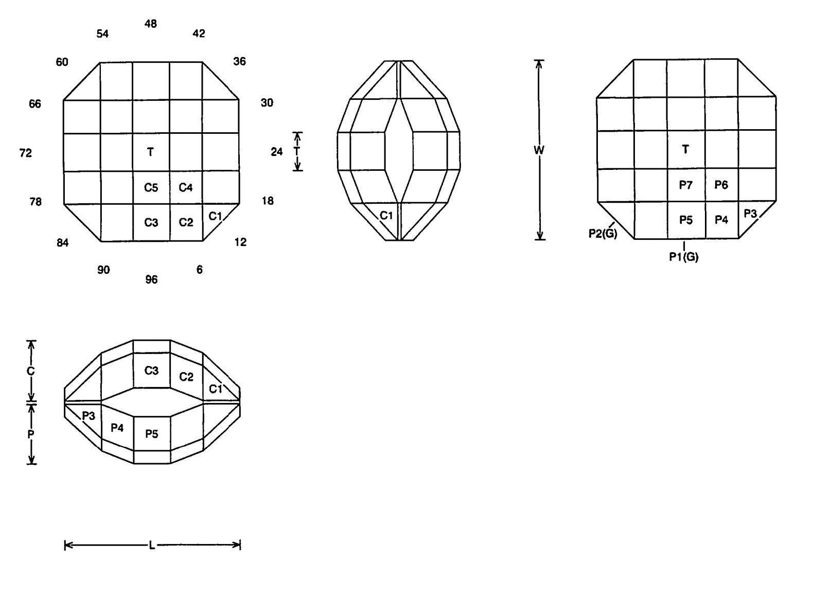 faceting design diagram  vexation - quartz
