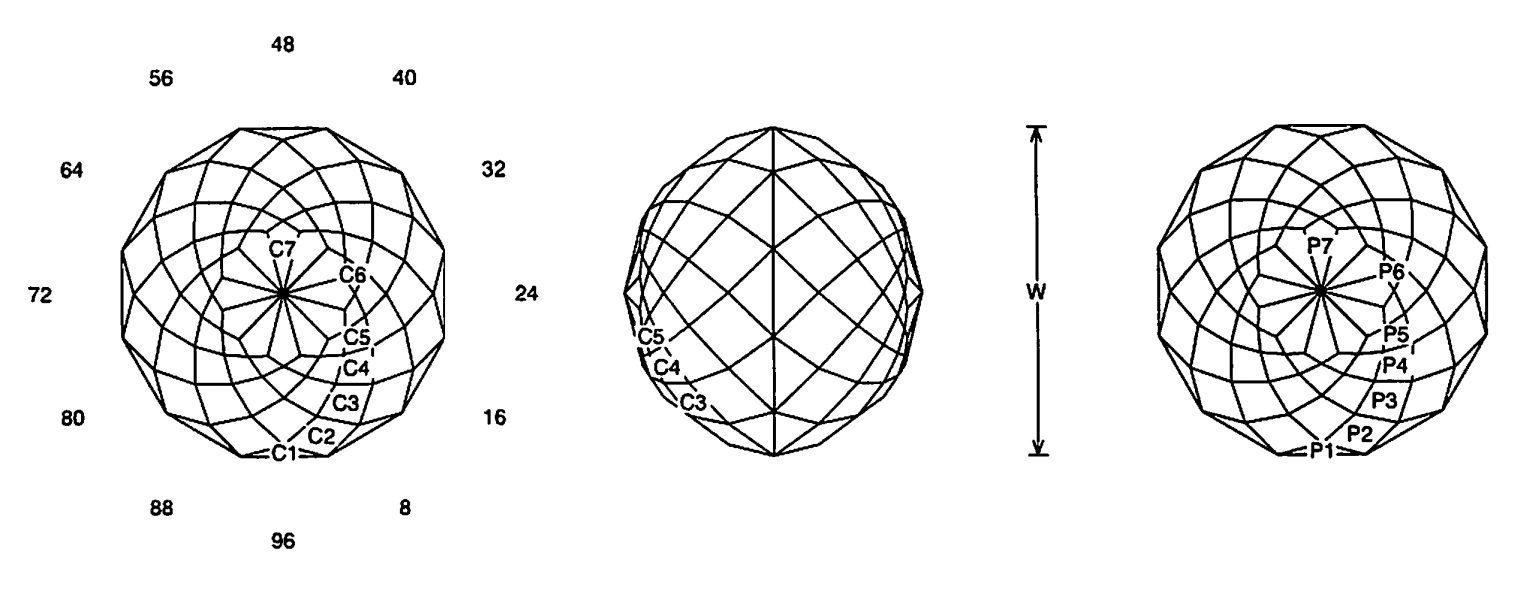 Faceting Design Diagram  World Order - Quartz