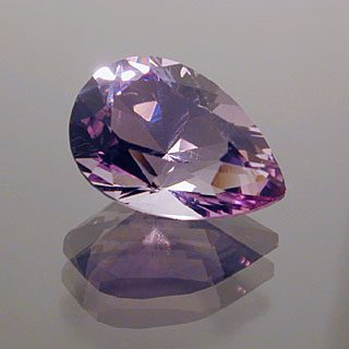 Pear Cut Amethyst