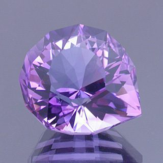 Fancy Short Pear Cut Amethyst, Nigeria, 11.12 cts