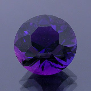 Fancy Petal Cut Round Cut Amethyst