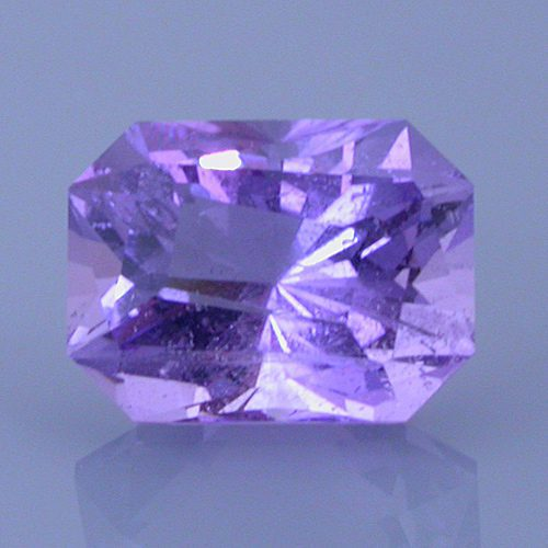 Fancy Twisted Barion Emerald Cut Amethyst