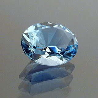 Oval Cut Aquamarine, Africa, 0.99 cts