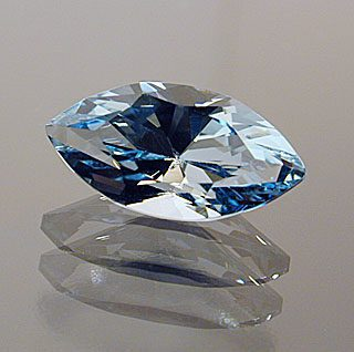 Marquise Cut Aquamarine, Not Sure, Probably Africa, 0.73 cts