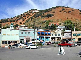 Bisbee old downtown