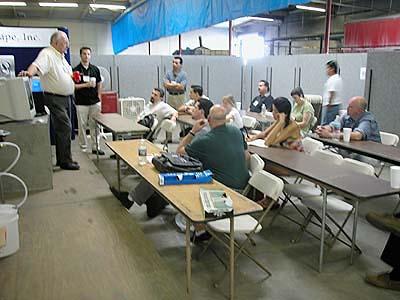 Bob Lynn lecturing