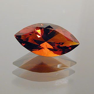Marquise Cut Ox Blood Citrine, Madiera ?, 0.91 cts
