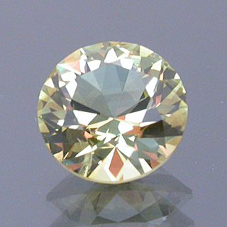 Round Brilliant Cut Chrysoberyl, Likely Tanzania, 1.34 cts