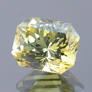 Fancy Barion Emerald Cut Chrysoberyl, Likely Tanzania, 1.54 cts