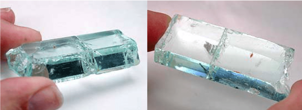 aquamarine rough, Pakistan - best gem yield