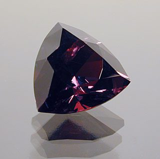 Trilliant Cut Garnet