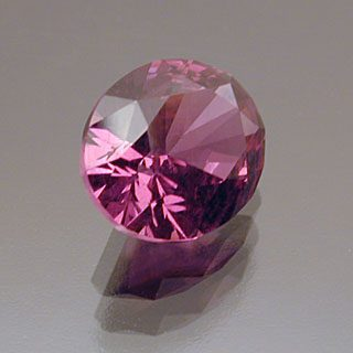Oval with Supernova Crown Cut Hot Pink Rhodolite Garnet, Africa, 1.83 cts