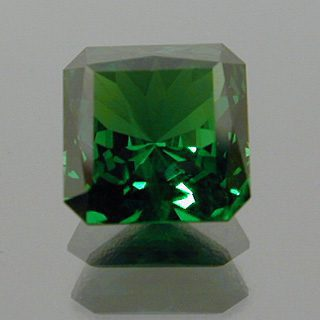 Fancy Square Brilliant Cut Tsavorite Garnet