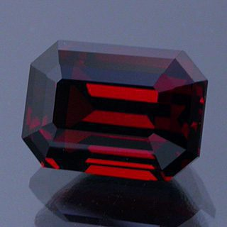 Emerald Cut Spessartite Garnet