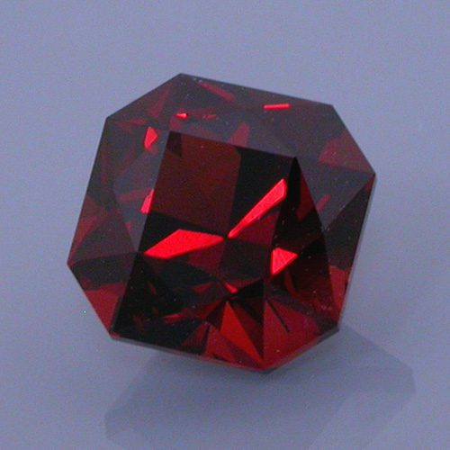 Fancy Square Brilliant Cut Namanga Garnet, Kenya, 1.58 cts