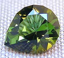2.97 carat green Afghan Tourmaline