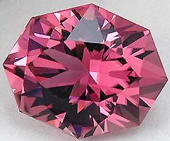 10.18 carat Nigerian pink Tourmaline