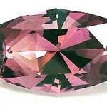 Blink cut - rubellite tourmaline