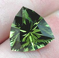 Easy Does It  in green Tourmaline