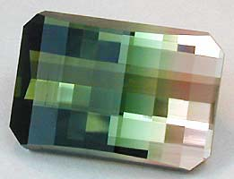 tourmaline opposed bar cut - gem stress