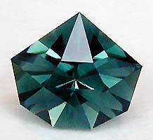indicolite - origami star cut