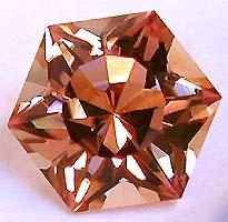 1.45 carat peach Tourmaline